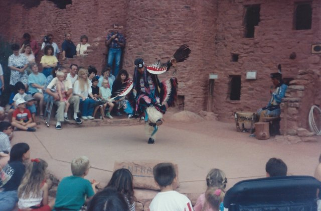 Dancers at Manitou Cliff Dwellings