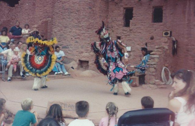 Dancers at Manitou