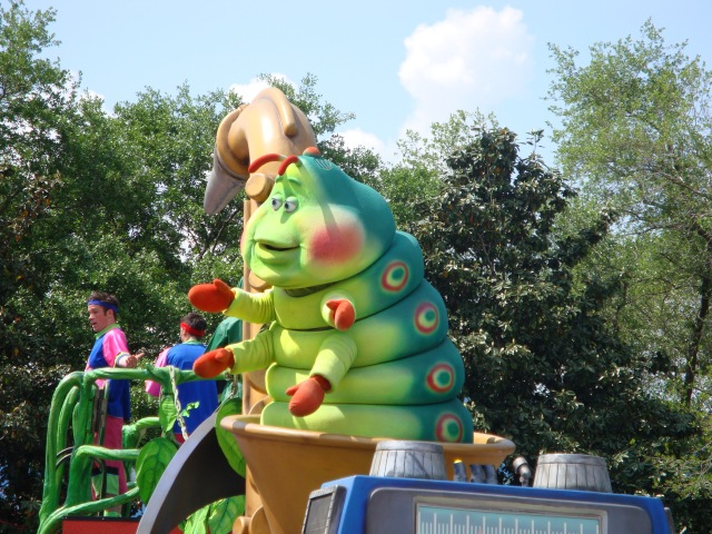 Float at the Parade in Animal Kingdom