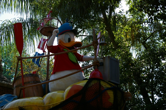 Donald Duck in Animal Kingdom