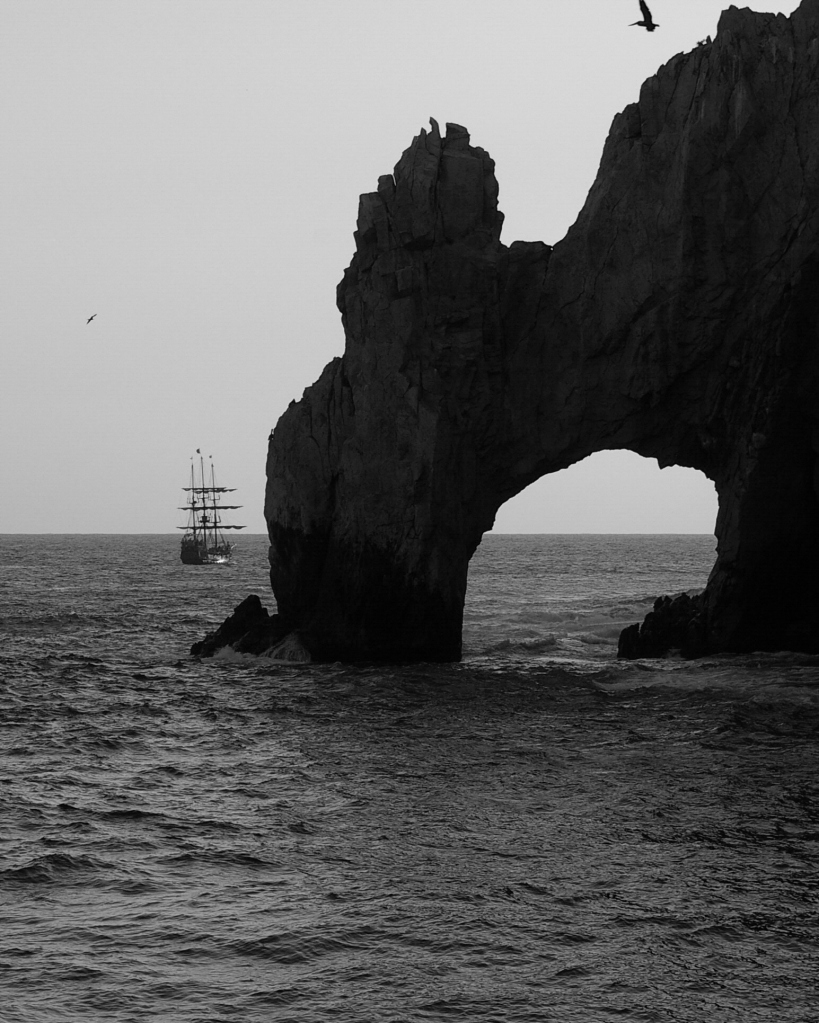The Arch in Black and White