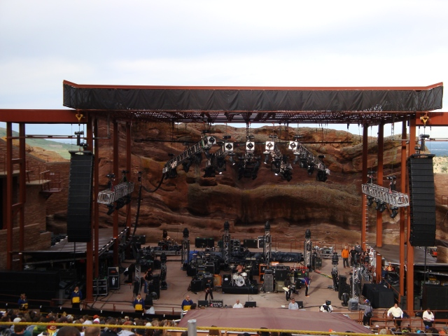 Stage Surrounded by Rocks