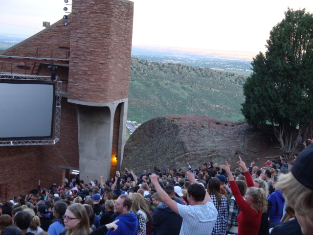 Crowd at Red Rocks