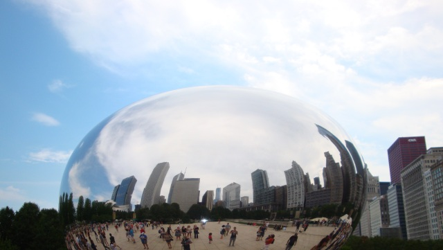 Cloud Gate (The Bean) in Chicago
