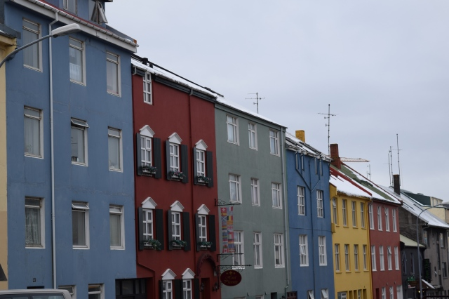 Colorful Buildings of Reykjavik