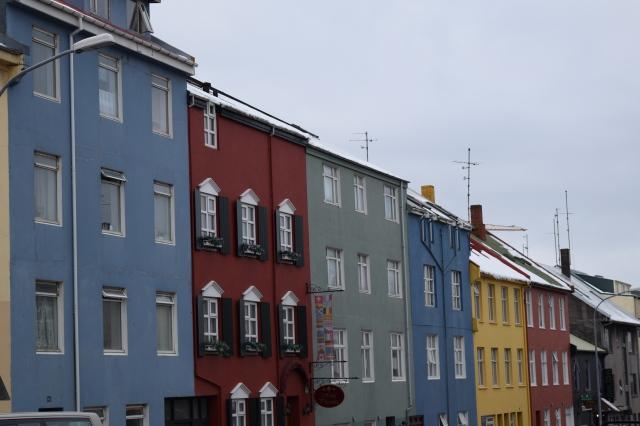 Colorful Buildings of Reykjavik