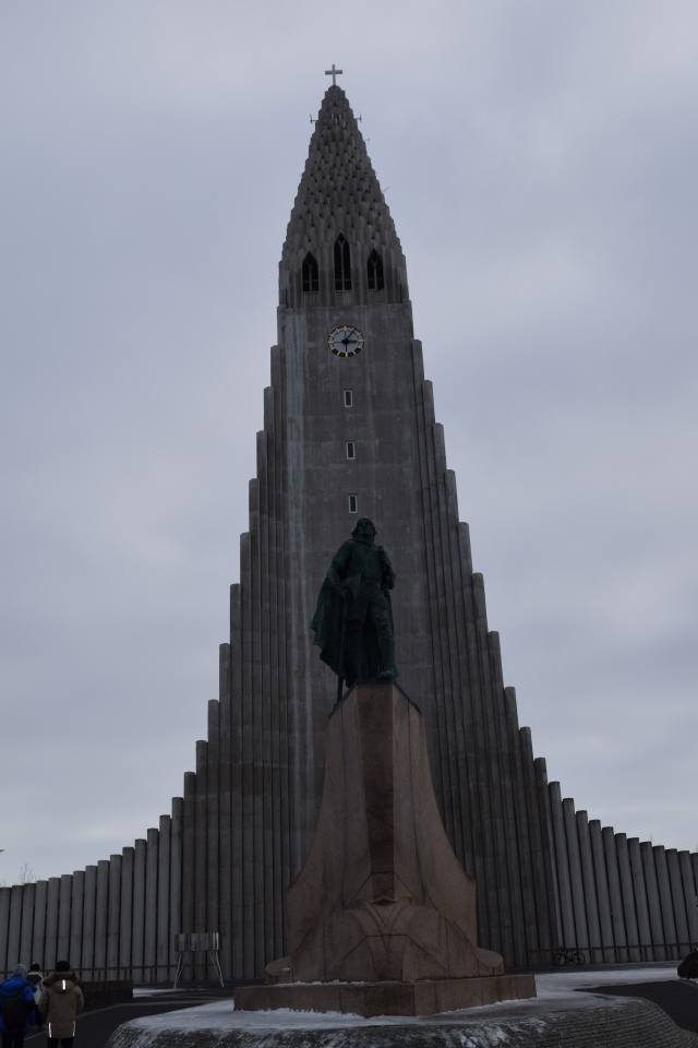 Church and Statue of Leif Erikson
