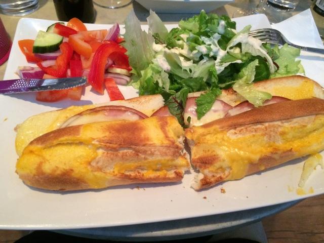 Simple Ham Sandwich