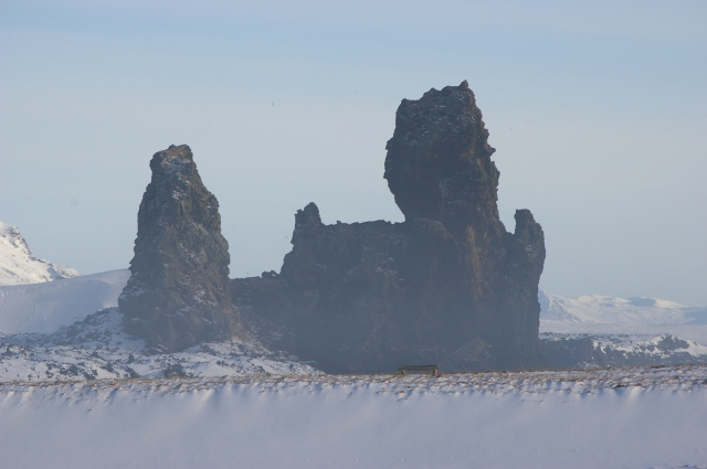 Rock Formations at Lóndrangar