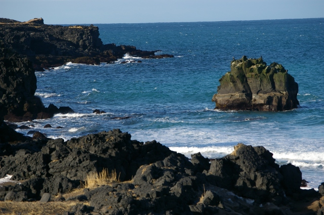 Dramatic Lava Lined Beaches