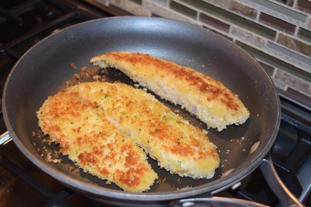 Pan Frying Tilapia