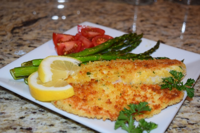 Tilapia with Roasted Asparagus