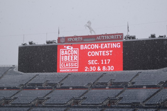 Snow Can't Stop Bacon and Beer Lovers