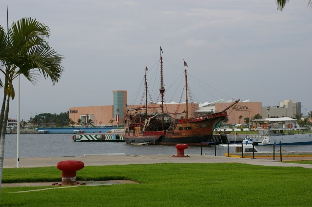 The Pirate Ship at the Port