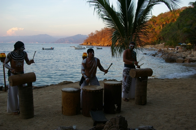 Drums on the Beach