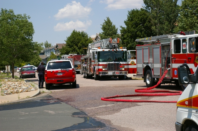 Fire Trucks and Hoses