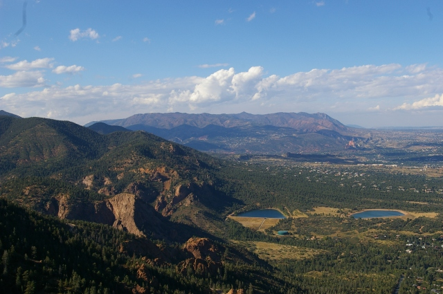 View Looking North from Cheyenne Mountain