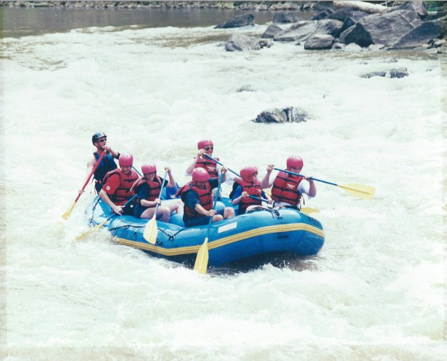 Our First Whitewater Rafting Trip