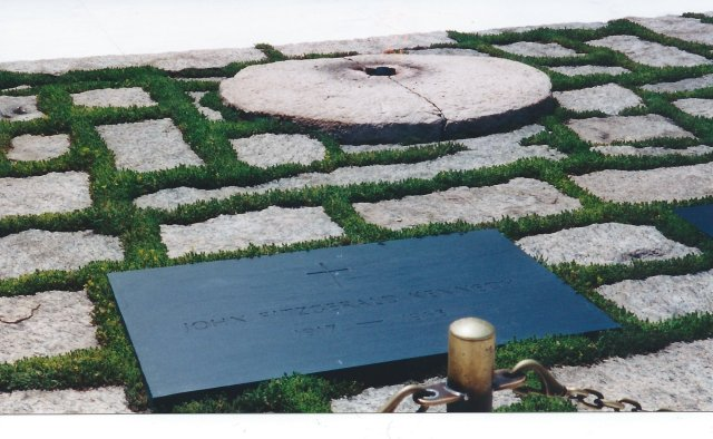 John F. Kennedy Eternal Flame at the National Cemetery