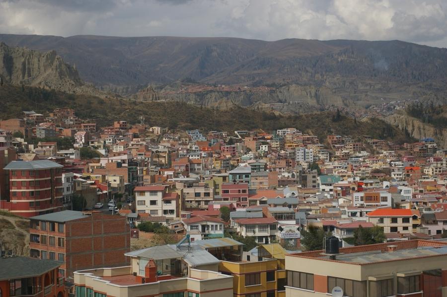 La Paz from the Gondola