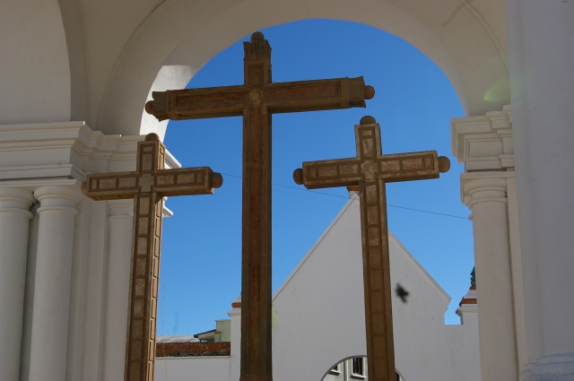 Crosses at the Church