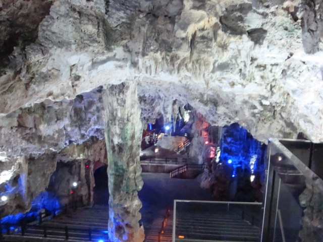 Cavern in the Rock of Gibraltar