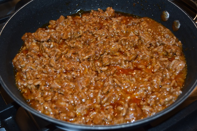 Ground Beef with Taco Seasoning