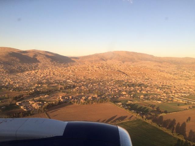Landing in Cochabamba