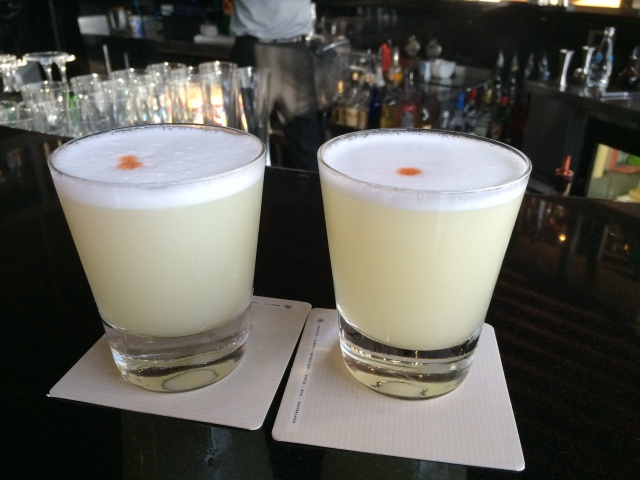 Our First Pisco Sours