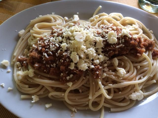 Bolivian Spaghetti