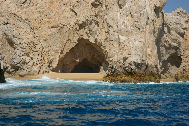 "Cave on ""Divorce Beach"""