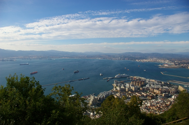 Views from the Rock of Gibraltar