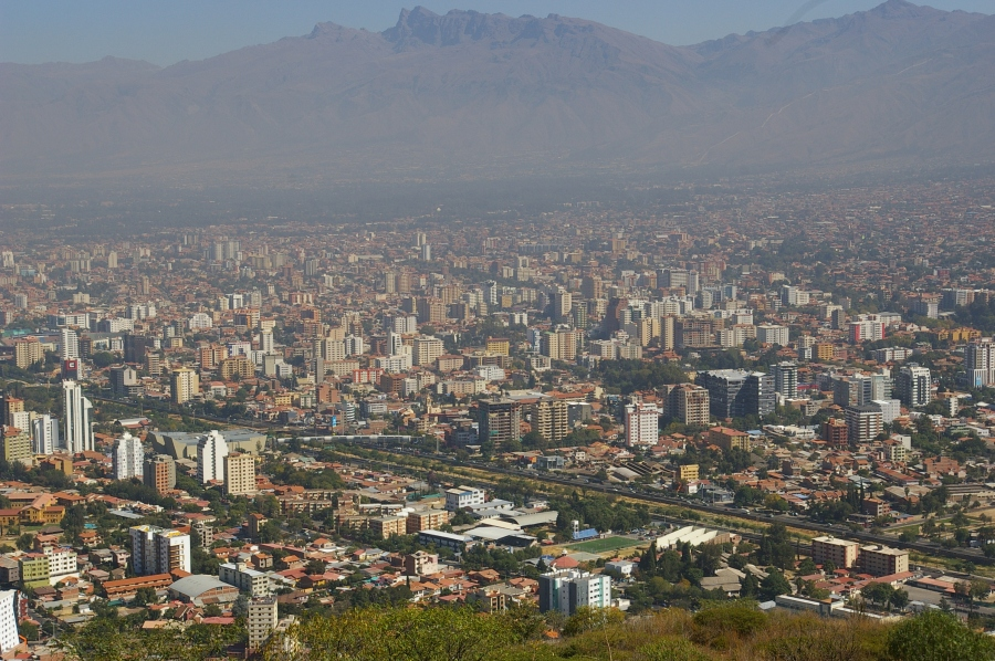Downtown Cochabamba
