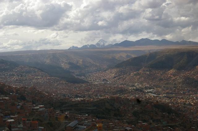 La Paz Spread Across the Hillsides