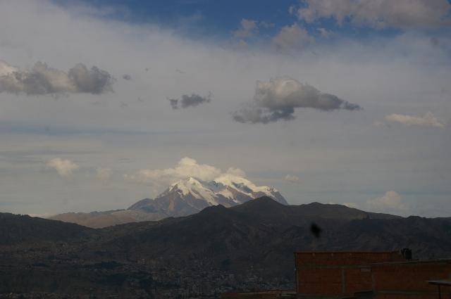 Mt Illimani