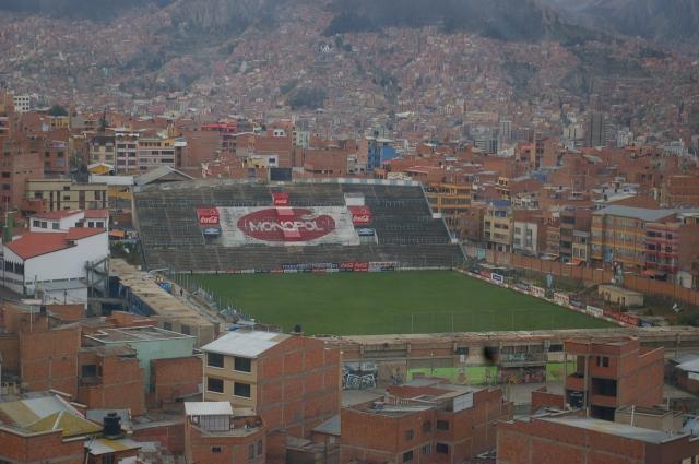 Soccer (Futball) Field in La Paz