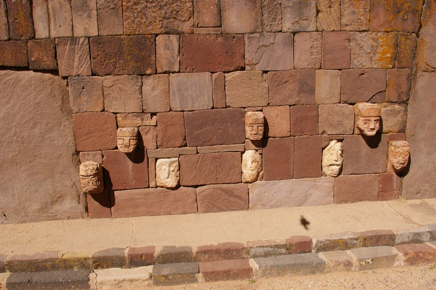 Solid Wall with Figures