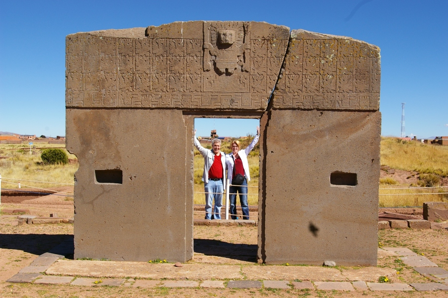 Our Guide Got Us to Have Fun at the Gate of the Sun