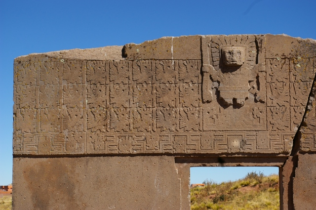 Possible Calendar on the Gate of the Sun