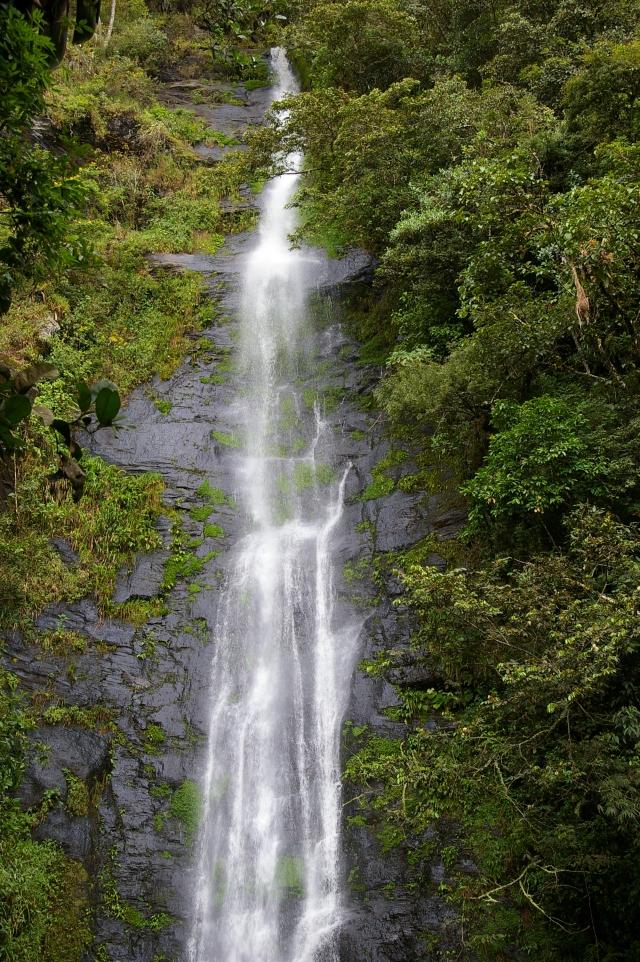 Waterfall at Coroico