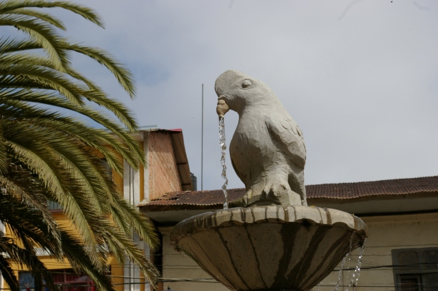 Fountain in Coroico