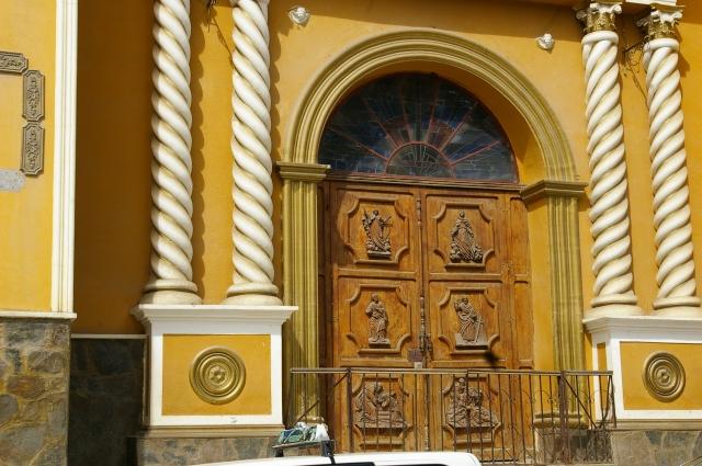 Church Doors in Coroico