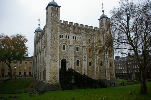 Stairs at the Tower of London