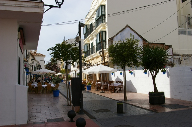 Restaurants on the Street