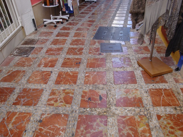 Colorful Tile Sidewalk