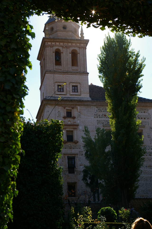 View of One of the Towers at Alhambra