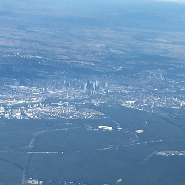Our First Glimpse of Frankfurt, Germany