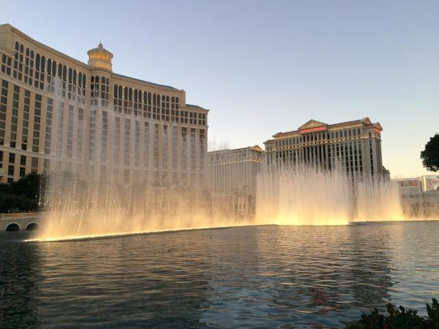 Fountain at the Bellagio in Las Vegas