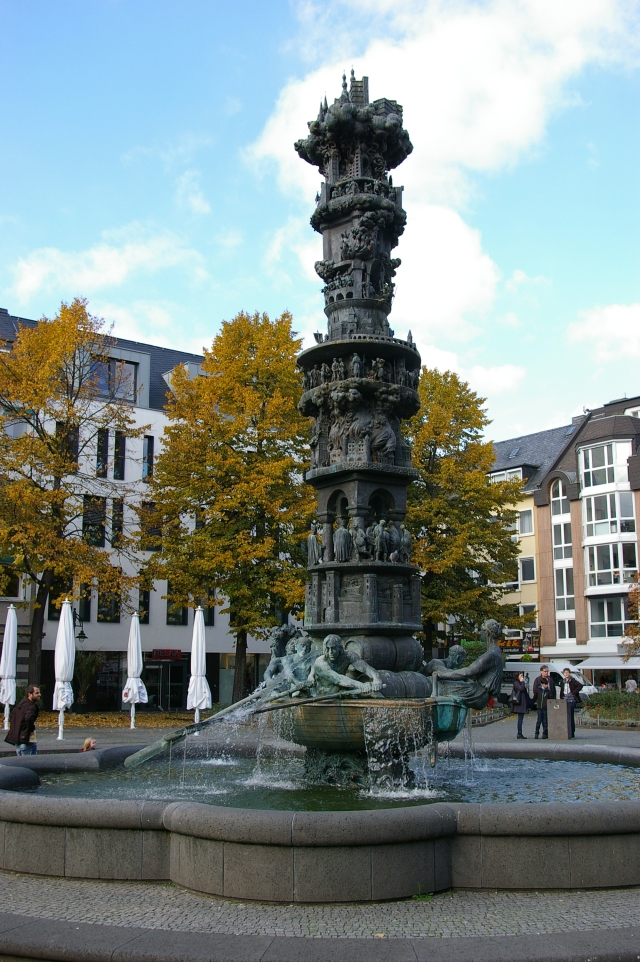 Fountain in the Town Square