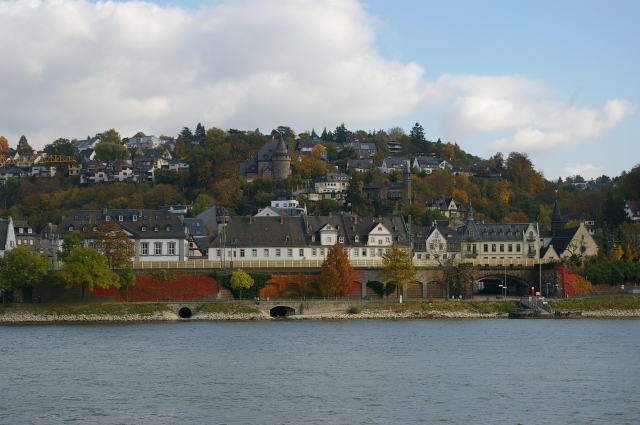 Looking Across the Rhine River